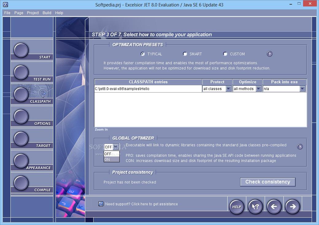 Download Excelsior JET for Windows 10 5