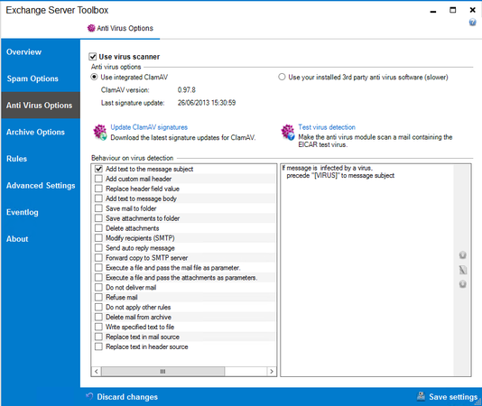 how to add email account to exchange server batch