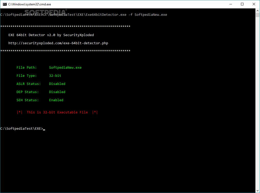 Download Exe 64bit Detector 21