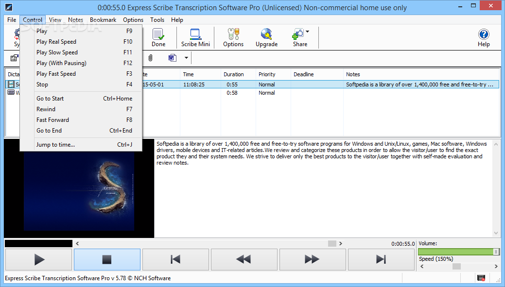 Download Express Scribe Transcription Software Pro 7.03