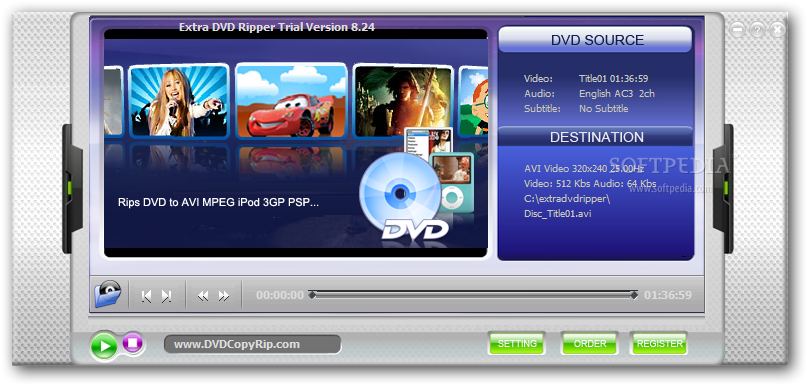 Extra dvd to mpeg ripper 6.9 keygen