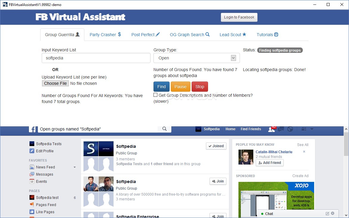 Download FB Virtual Assistant 2 23