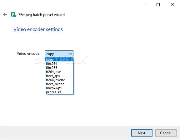 Download FFmpeg Batch A/V Converter 1 6 9