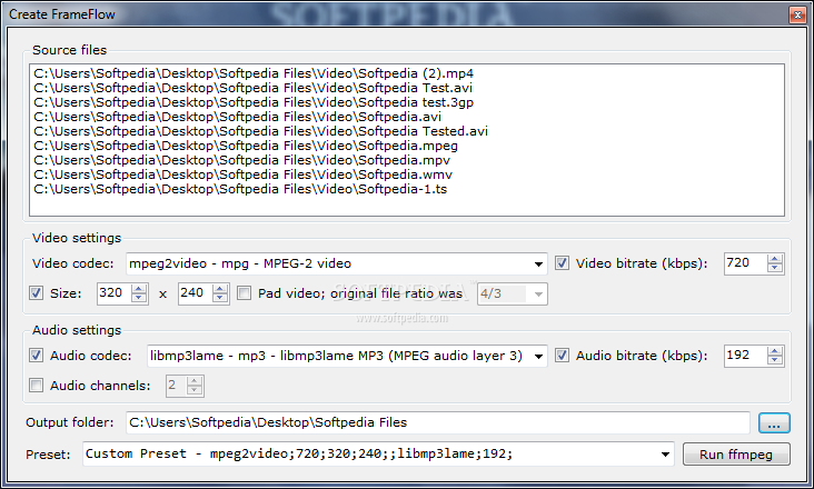 how to use ffmpeg to convert videos