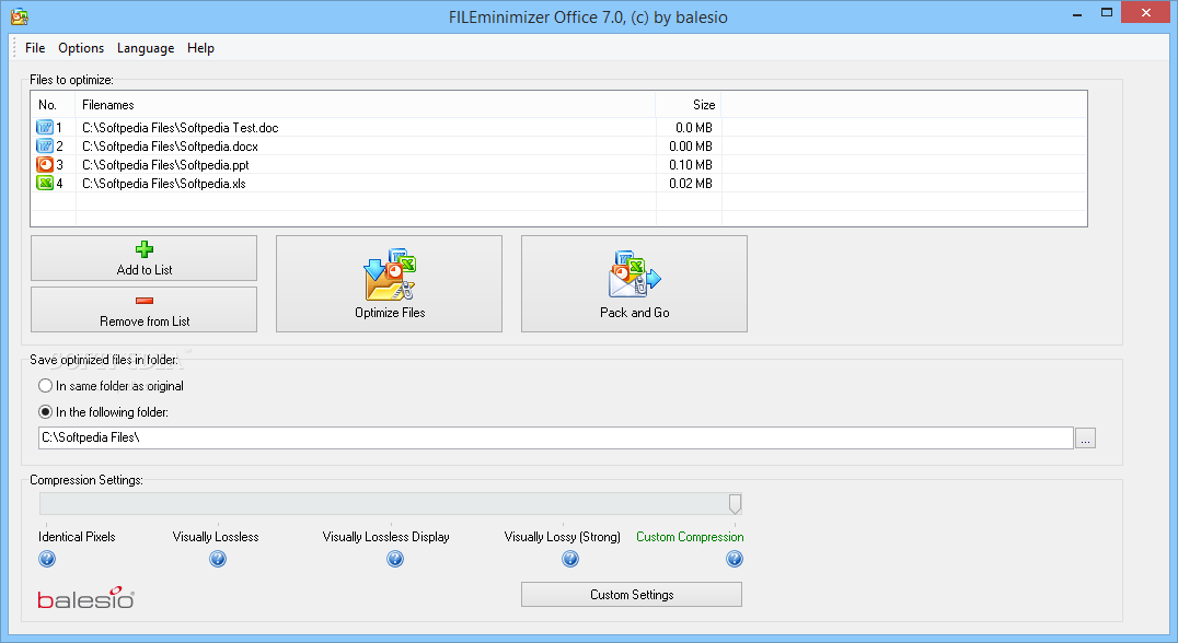 FILEminimizer Office Download