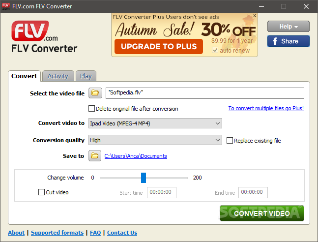 FLV To MP3 Converter Serial Number