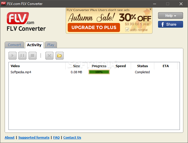 Flv Converter Screenshot 4