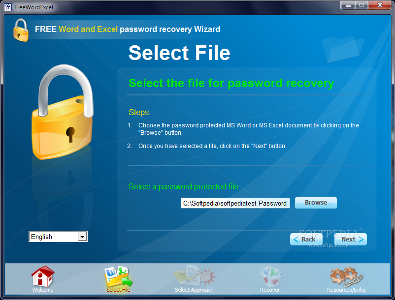 free word excel password recovery software download