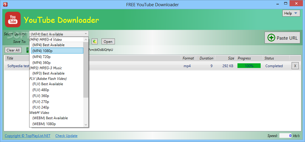 Youtube videos downloader free