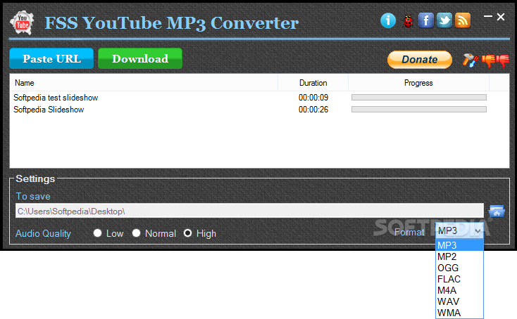 Download FSS YouTube MP3 Converter 1.4.0.9
