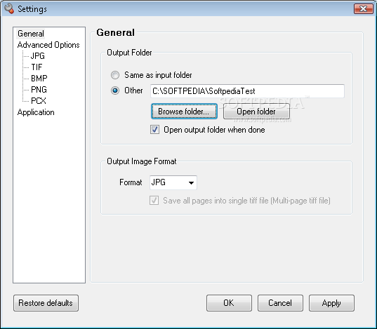 how to change bmp to pdf