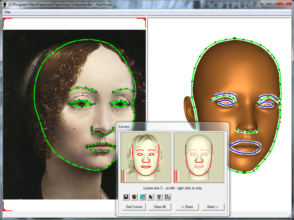 Face poser: interactive modeling of 3d facial expressions using facial priors
