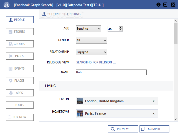 Download Facebook Graph Search 1 0