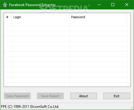 Download Facebook Password Extractor 2 0 306 4110