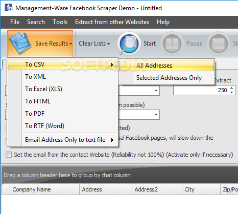 Download Facebook Scraper 1 0 0 0