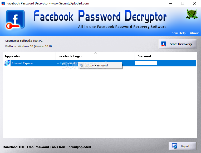 All In One Password Recovery Software Free : Free Programs