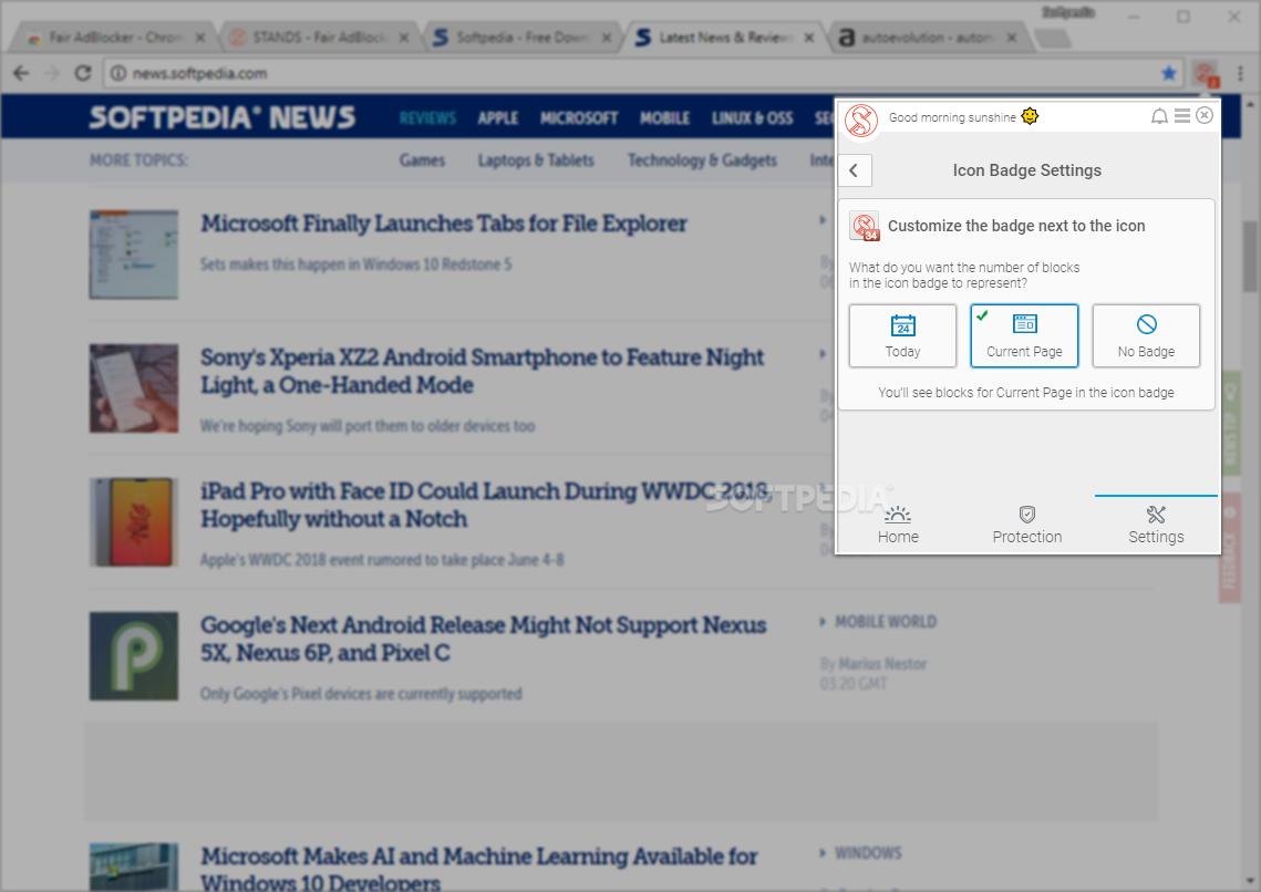 Download Fair AdBlocker for Chrome 1 511