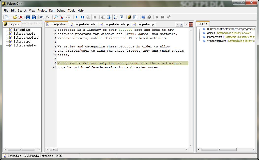 Download Falcon C++ 3 3 0 0