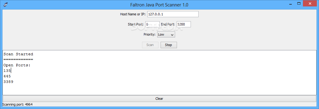Download Faltron Java Port Scanner 1 0