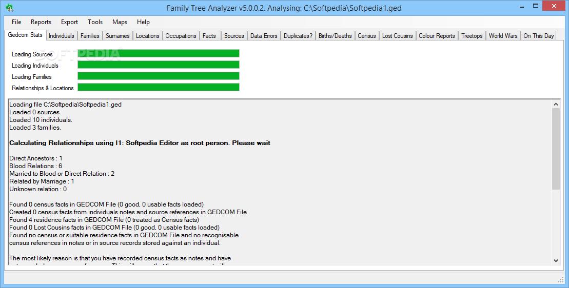 download family tree analyzer 5 3 1 5