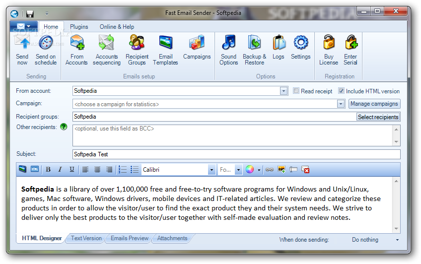 Download Fast Email Sender 5.1.0