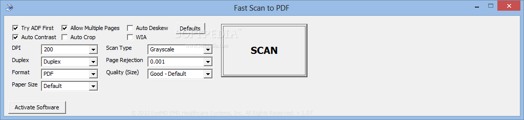 Download Fast Scan To Pdf 1 0 7
