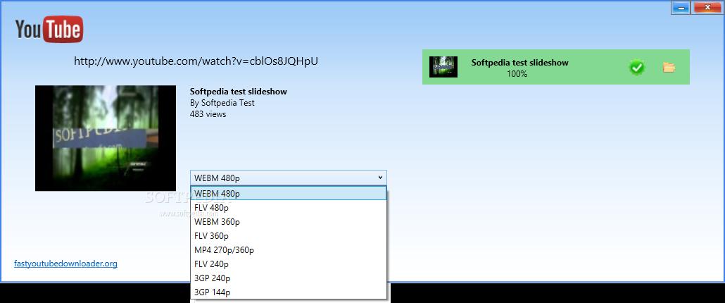 Download Fast YouTube Downloader 2 3 0 0