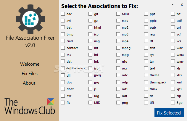 Download File Association Fixer 2 0
