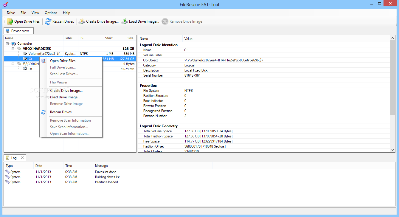 Download FileRescue FAT 4.16 Build 228