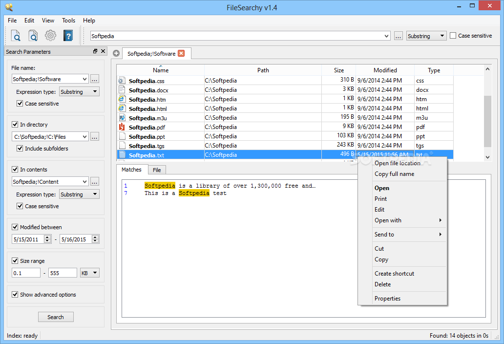 filesearchy free