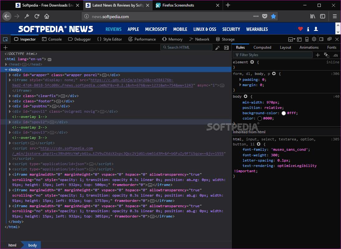 Download Firefox Developer Edition 69 0b13