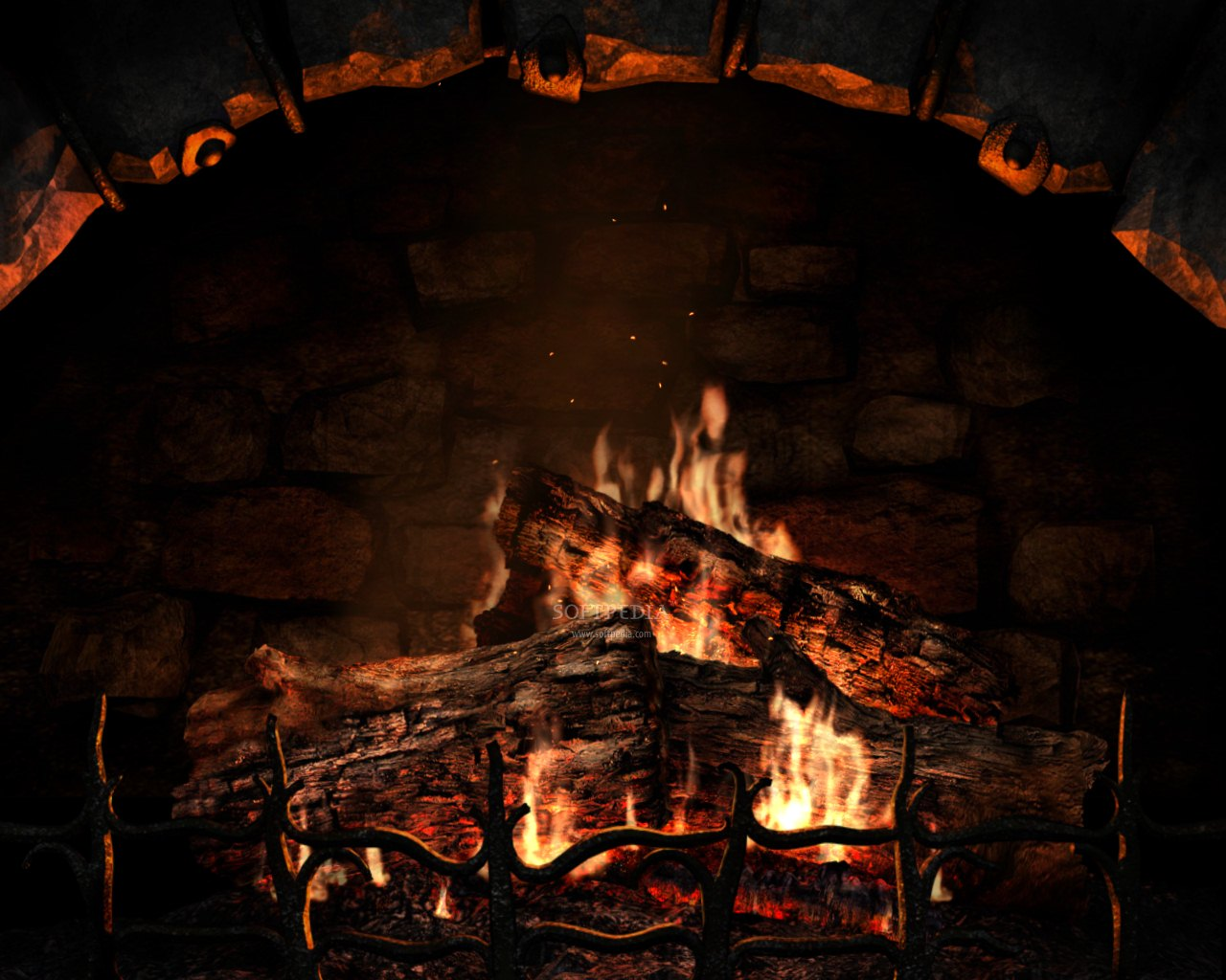 Free Download Fireplace 3D Screensaver 3.1 Build 19 - Turn your computer screen into a virtual fireplace with this neat screensaver that will make y...
