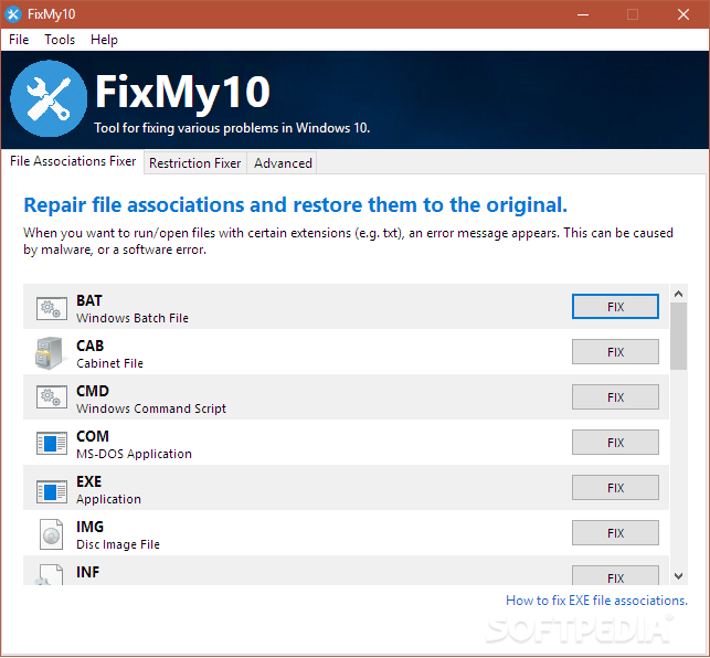 Download FixMy10 2 1 3