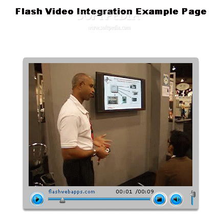 Flash Video Player screenshot 1