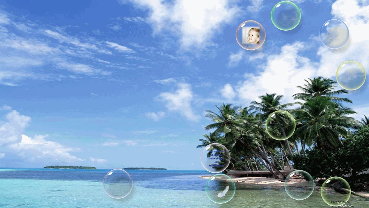 bubble screensaver for xp