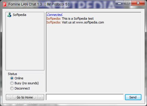 Download Fomine LAN Chat 1.3