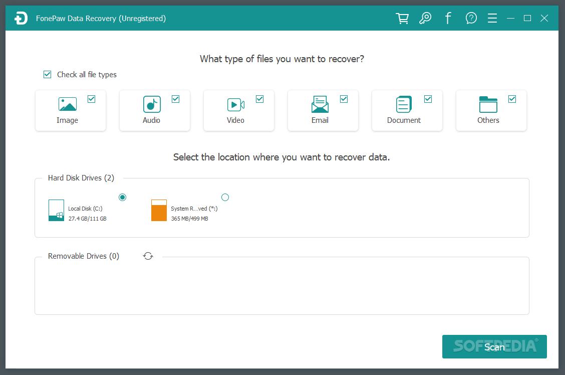 Download FonePaw Data Recovery 2.5.0