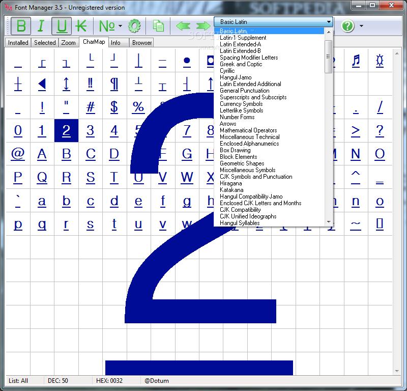 Download Font Manager 35