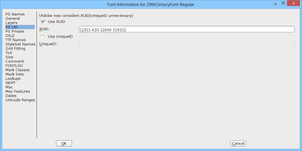 Download FontForge Portable 13-April-2019