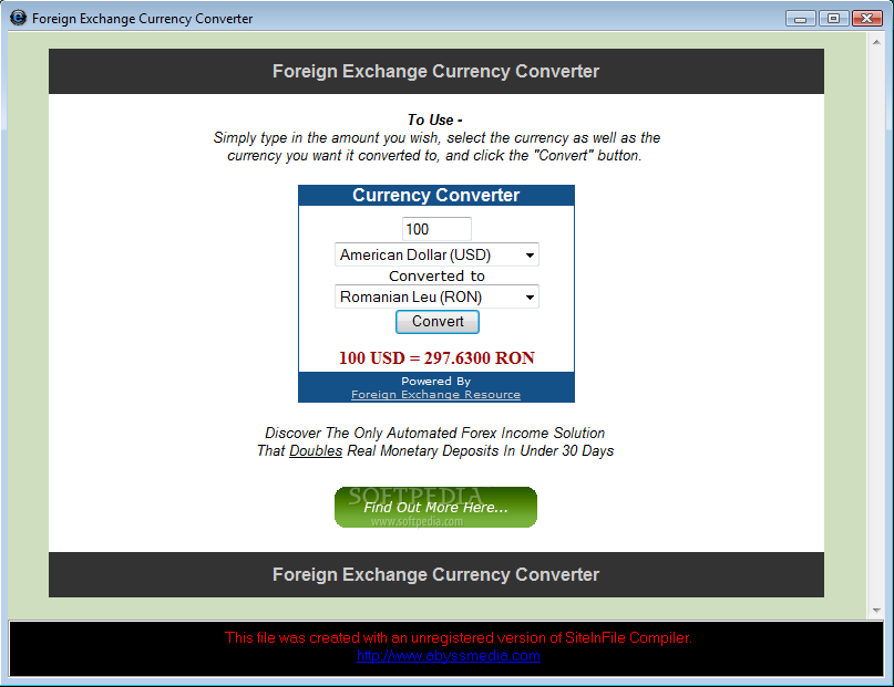 Forex foreign exchange calculator