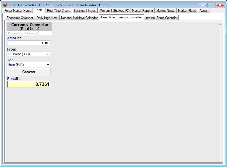 Download Forex Trader Sidekick 2.5