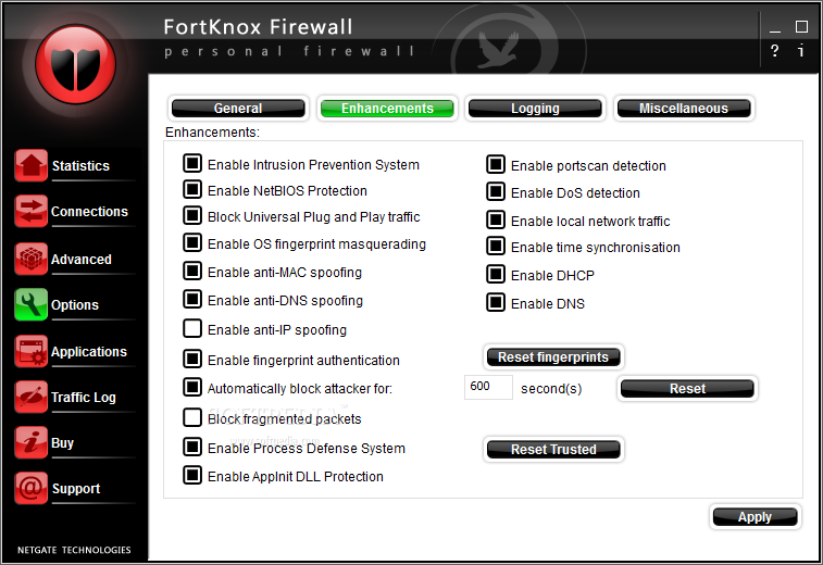 fortknox firewall gratuit