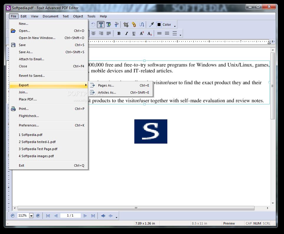 foxit pdf creator com add-in