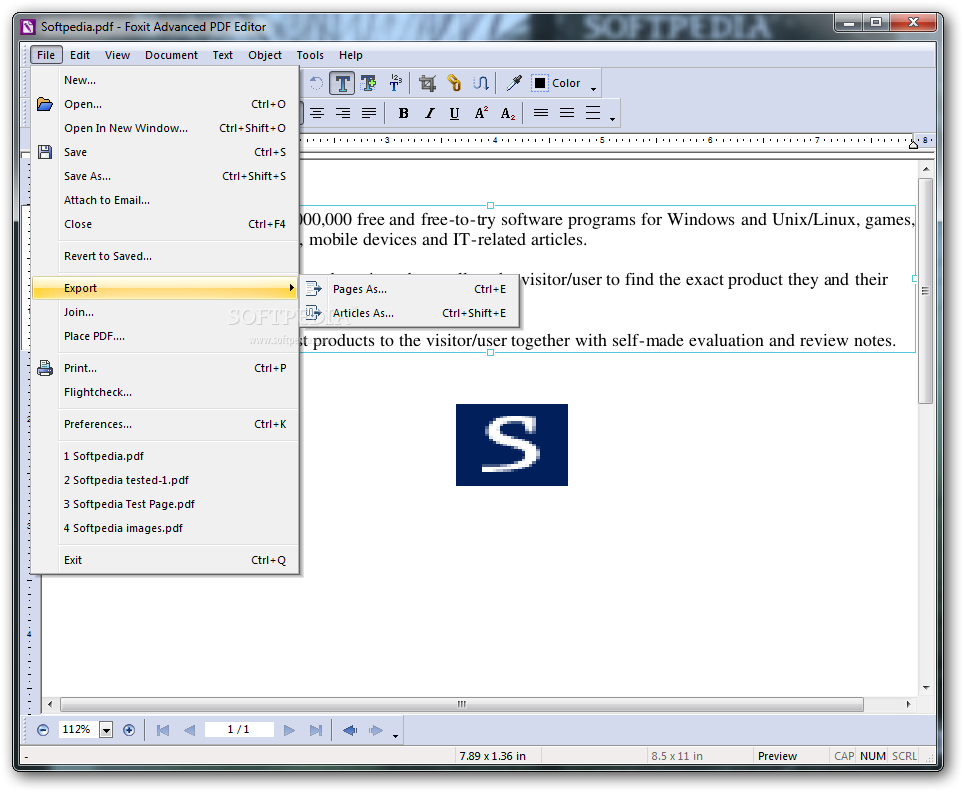 How to create a PDF from Screenshot or other Images