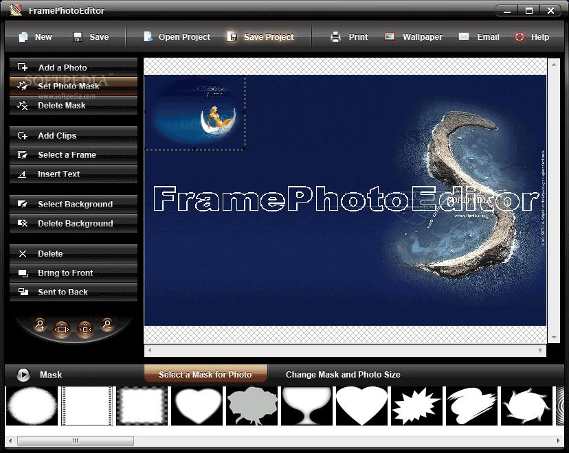 Photo frame editor free download