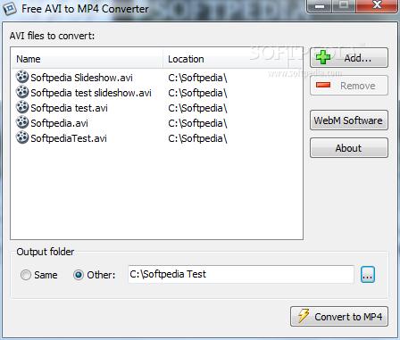 free avi to mp4 converter windows