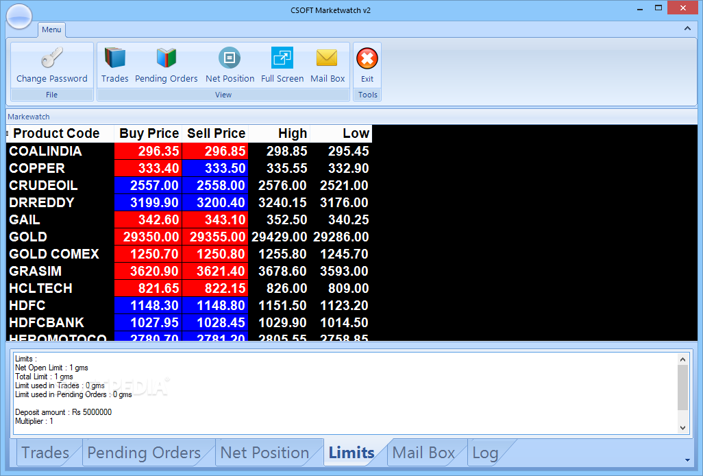 live bse marketwatch software