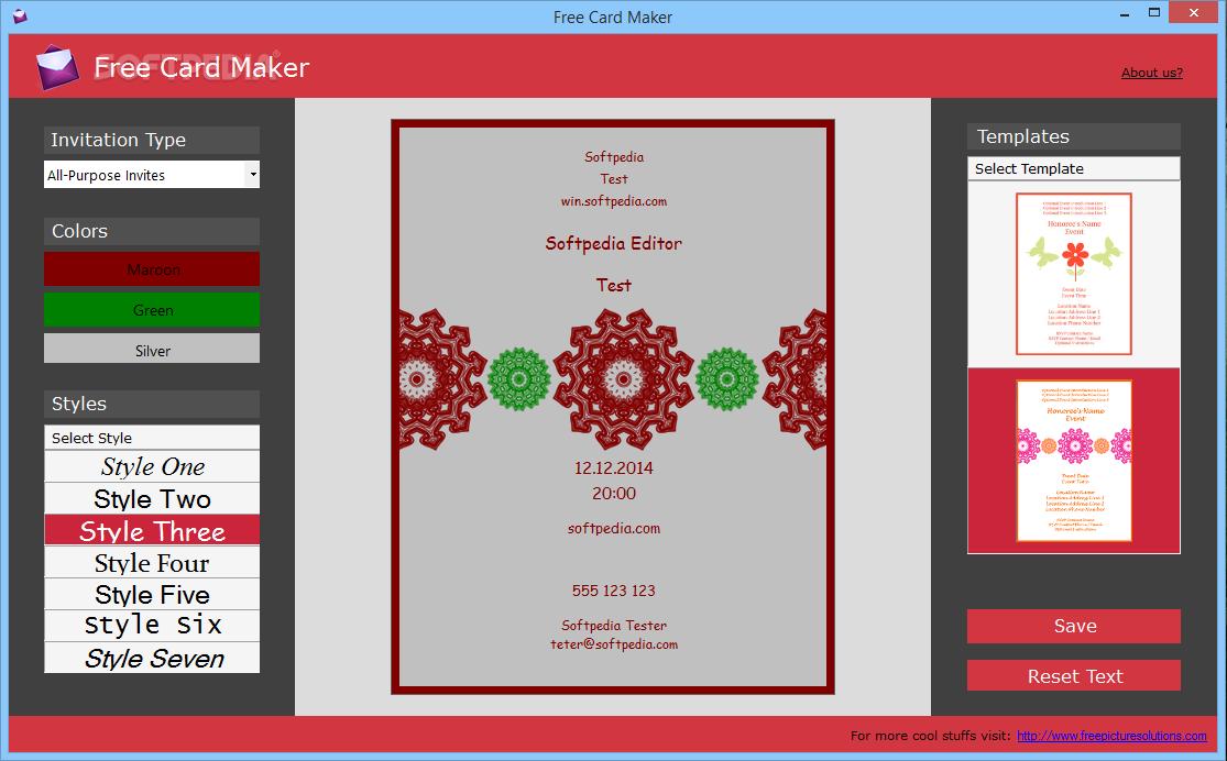 download free card maker 1 0 0 0