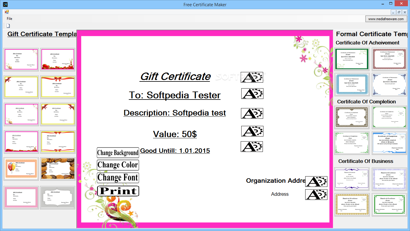 Certificate template software registration form word template certificate template maker free baby shower invitation templates free certificate maker 2 certificate template makerhtml xflitez Images