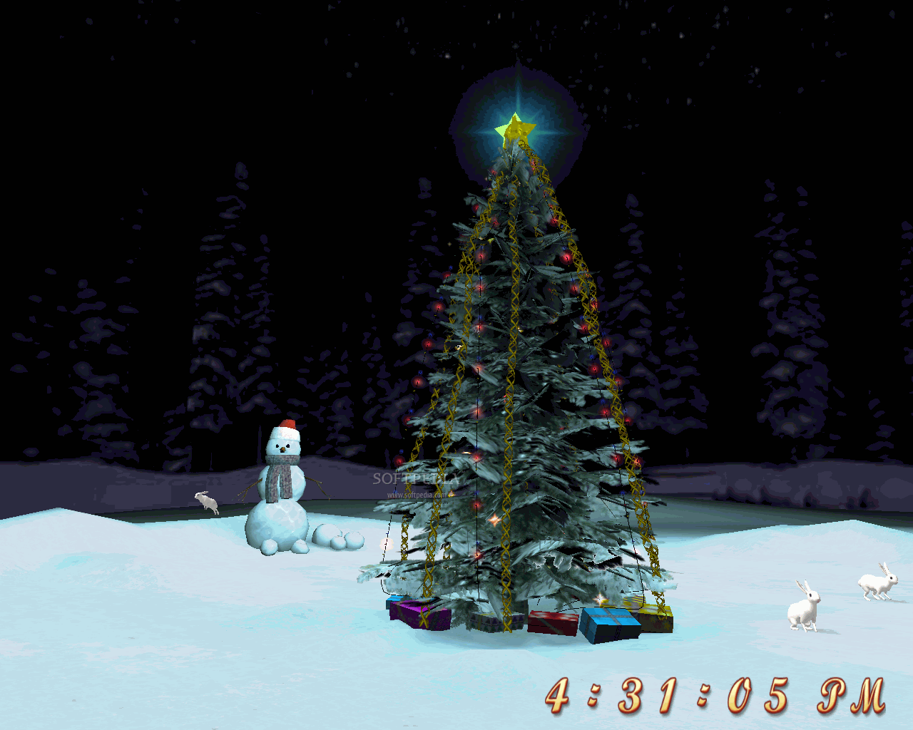 Download Free Christmas Tree 3D Screensaver 1.0